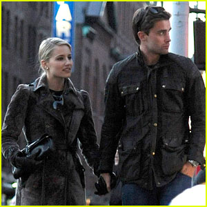 Dianna Agron & Christian Cooke: Holding Hands in NYC!