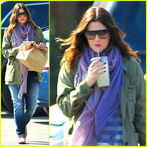 Drew Barrymore: Culver City Lunch Stop!