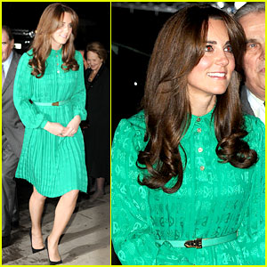 Duchess Kate: Natural History Museum Gallery Opening!