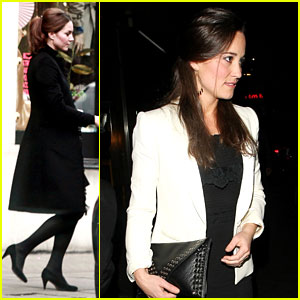 Duchess Kate & Pippa Middleton: Separate London Outings!