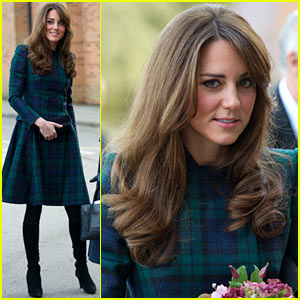 Duchess Kate: St. Andrew's School Visit!