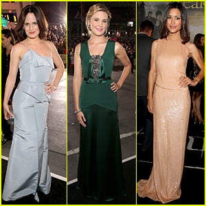 Elizabeth Reaser & Maggie Grace: 'Twilight' Breaking Dawn Part 2 Premiere!