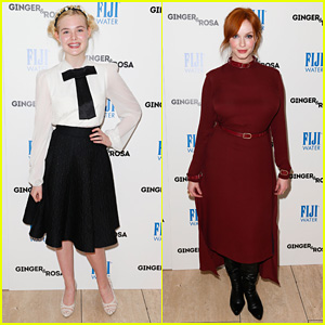 Elle Fanning: 'Ginger & Rosa' Screening with Christina Hendricks!