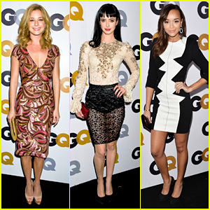 Emily VanCamp & Krysten Ritter - 2012 GQ Men of the Year Party
