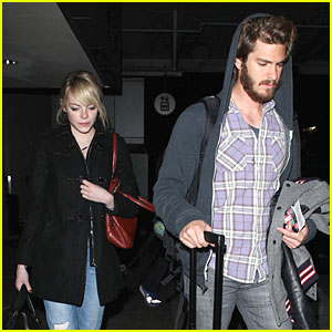 Emma Stone & Andrew Garfield: Favorite On-Screen Chemistry Nominee!