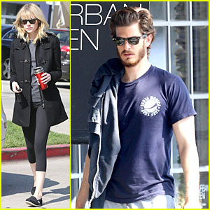 Emma Stone & Andrew Garfield: West Hollywood Workout Pair!