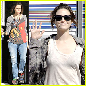 Emmy Rossum: 'You're Not You' Set!