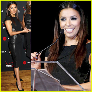 Eva Longoria: Latino Entrepreneur of the Year Awards 2012!
