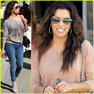 Eva Longoria: Sunset Shopper!
