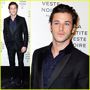 Gaspard Ulliel: Little Black Jacket Exhibition!