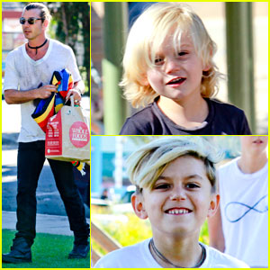 Gavin Rossdale: Boys Day Out with Kingston & Zuma!