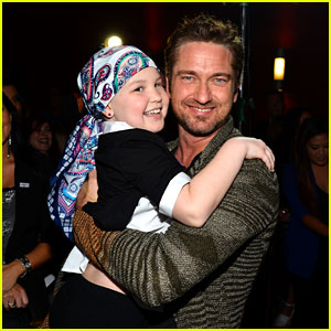 Gerard Butler: 'Playing for Keeps' Charity Screening!