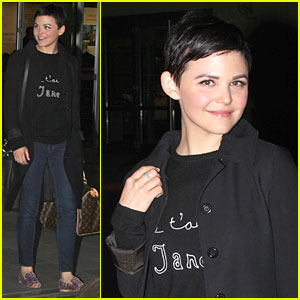Ginnifer Goodwin: Jennifer Morrison is Who I Want to Spend My Life with in Another Country!