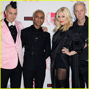 Gwen Stefani & No Doubt - MTV EMAs 2012 Red Carpet