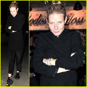 Gwyneth Paltrow: Bodo's Schloss Night Out!