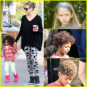 Heidi Klum: Lunch Stop with the Kids!