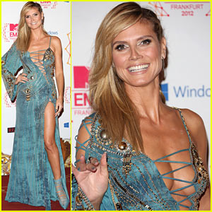 Heidi Klum - MTV EMAs 2012 Red Carpet