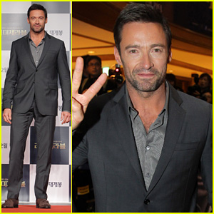Hugh Jackman: 'Les Miserables' South Korea Premiere!