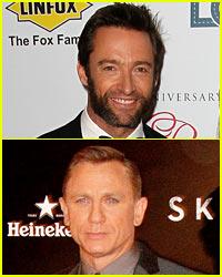 Hugh Jackman Pokes Fun at Daniel Craig in Joke Video!