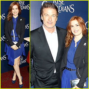 Isla Fisher: 'Rise of the Guardians' Premiere!