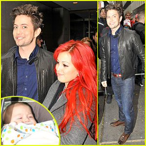 Jackson Rathbone Brings Baby Roe to 'Today Show' Appearance!