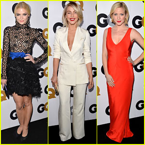 Jaime King & Julianne Hough - GQ Men of the Year Party 2012