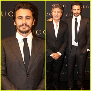 James Franco: Gucci Store Opening in Sao Paulo!