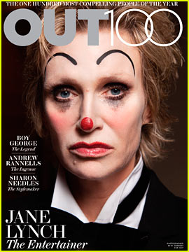 Jane Lynch Covers 'Out' Magazine's 'Out100' Issue - Exclusive!