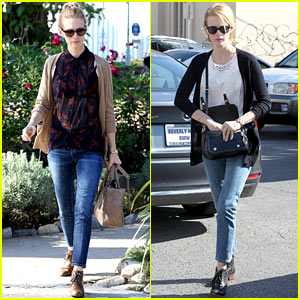 January Jones: Cecconi's Lunch with Friends!