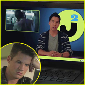 Just Jared: '90210' Appearance Tonight - Exclusive Video!