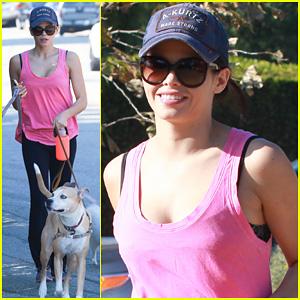 Jenna Dewan: Runyon Canyon Dog Hike!