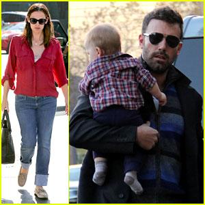 Jennifer Garner & Ben Affleck: Family Dinner in Brentwood!