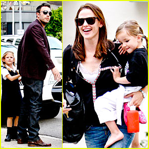 Jennifer Garner & Ben Affleck: Kids Karate Class Pick-Up!