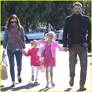 Jennifer Garner & Ben Affleck: Pacific Palisades' Farmer Market Stop!