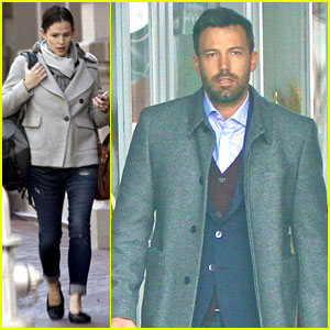 Jennifer Garner & Ben Affleck: Separate Coffee Outings!