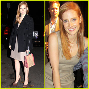 Jessica Chastain: 'Zero Dark Thirty' Screening!