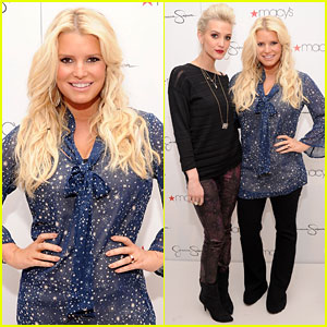 Jessica Simpson: Macy's Collection Event with Ashlee!