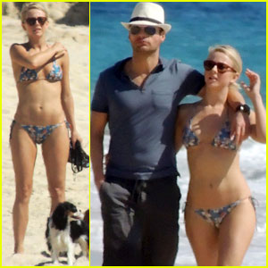 Julianne Hough: Bikini Beach Day with Ryan Seacrest!