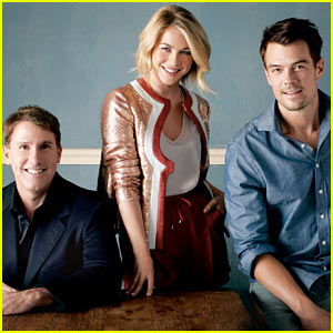 Julianne Hough & Josh Duhamel Chat Nicholas Sparks' 'Safe Haven' with 'THR'
