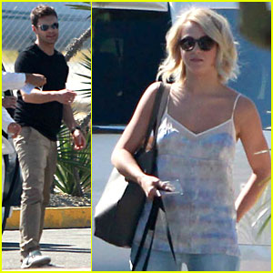 Julianne Hough & Ryan Seacrest: Weekend Vacation in Mexico!