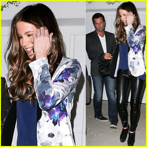 Kate Beckinsale & Len Wiseman: Halloween Date Night!