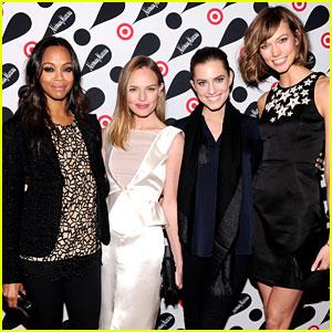 Kate Bosworth & Zoe Saldana: Target + Neiman Marcus Event!