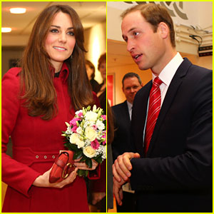 Duchess Kate & Prince William: Rugby Match in Wales!