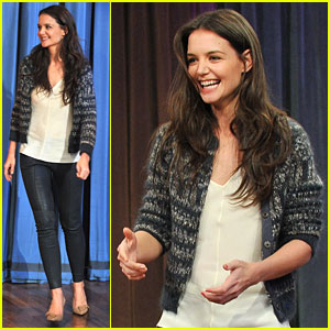Katie Holmes: 'Late Night with Jimmy Fallon' Charades Player!