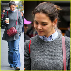 Katie Holmes: 'Really Thrilled' for 'Dead Accounts' on Broadway!