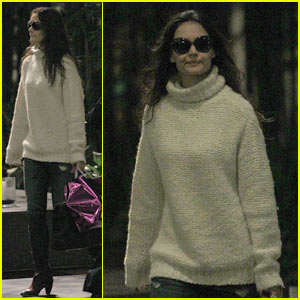 Katie Holmes: Thanksgiving in Toledo, Ohio!
