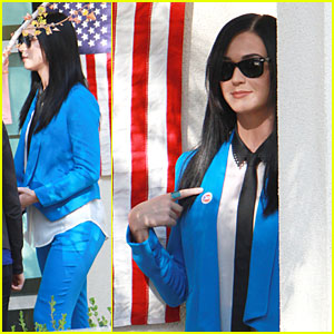Katy Perry: Excited to Exercise My Civic Duty!