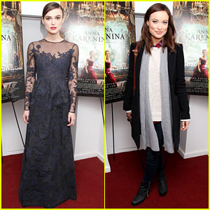 Keira Knightley & Olivia Wilde: 'Anna Karenina' Screening!