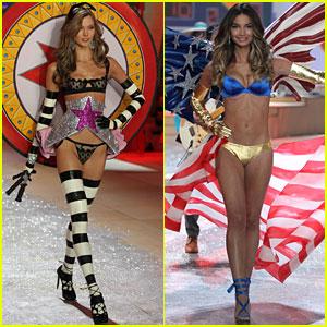 Karlie Kloss & Lily Aldridge - Victoria's Secret Fashion Show 2012