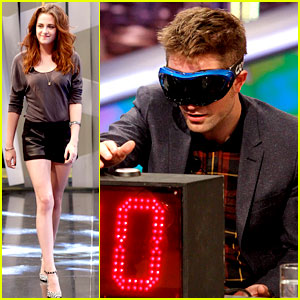 Kristen Stewart & Robert Pattinson: 'El Hormiguero' in Spain!